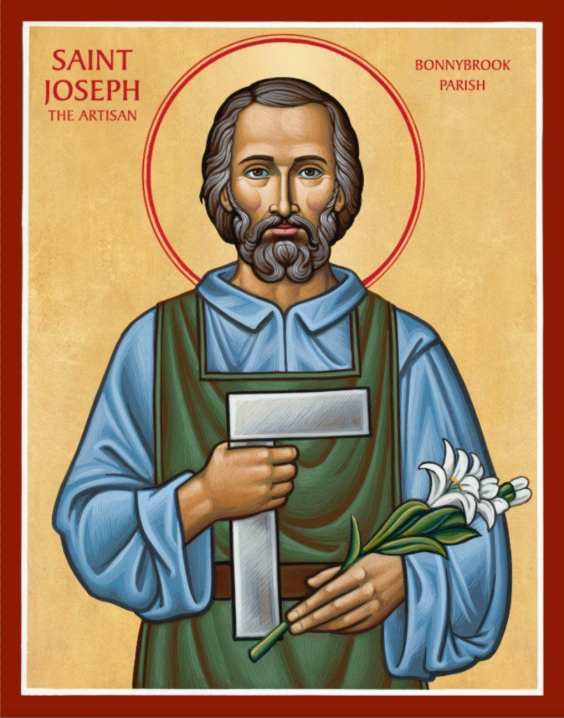 Saint Joseph the Artisan Icon