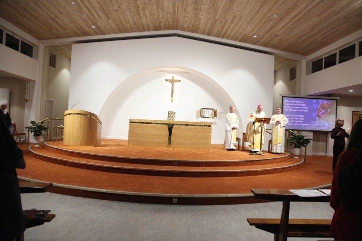 Archbishop Dermot Martin visit to Bonnybrook Parish