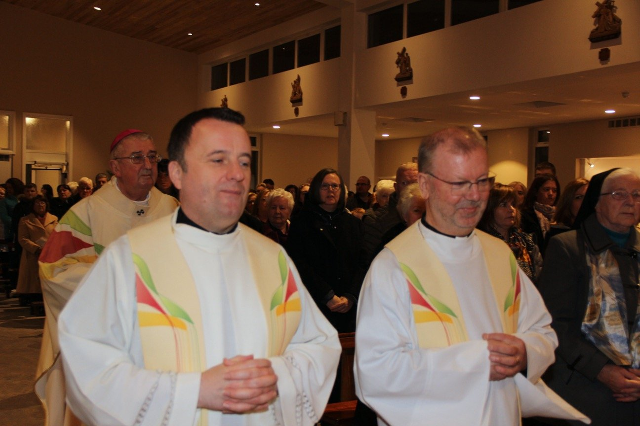 Archbishop Dermot Martin visit to Bonnybrook Parish