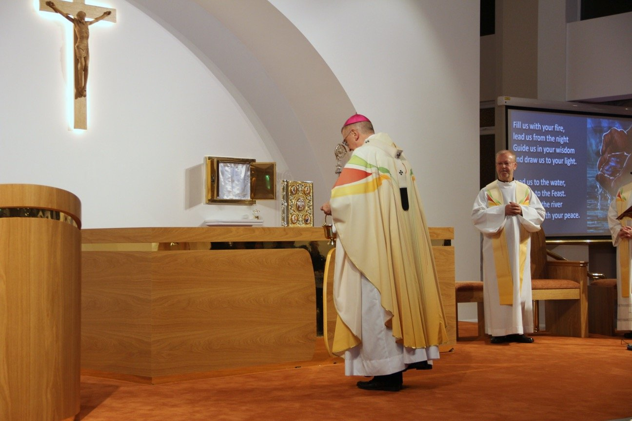 Reopening Ceremony of St. Joseph the Artisan Church